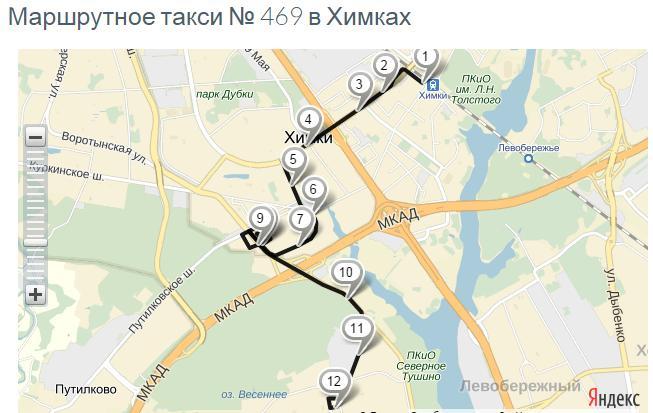 От станции Химки до м